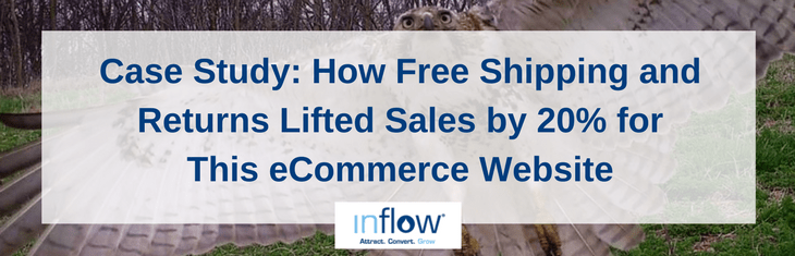 eCommerce Case Study: Free Shipping Lifted Sales 20% for