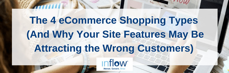 The 4 eCommerce Shopping Types (And Why Your Site Features May Be Attracting the Wrong Customers)