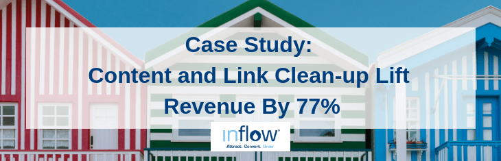 Case Study: Content and Link Clean-up Lift Revenue By 77%