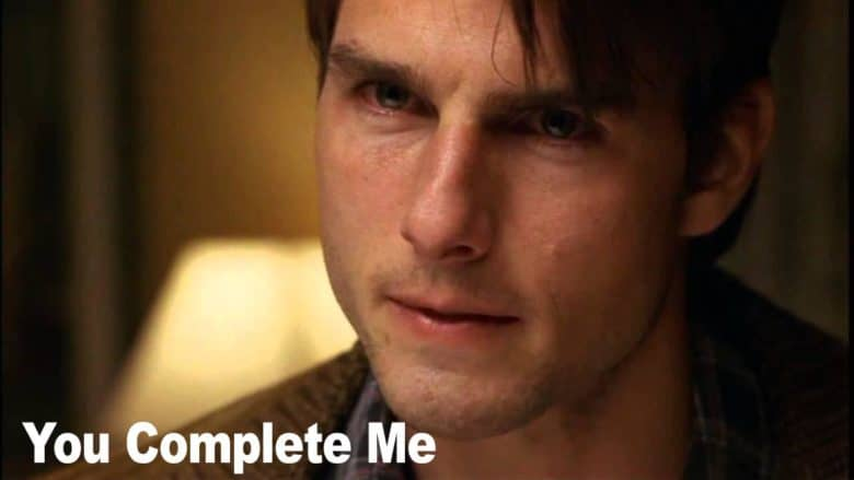 "How to hire eCommerce Director: ""You Complete Me"" meme with Tom Cruise"