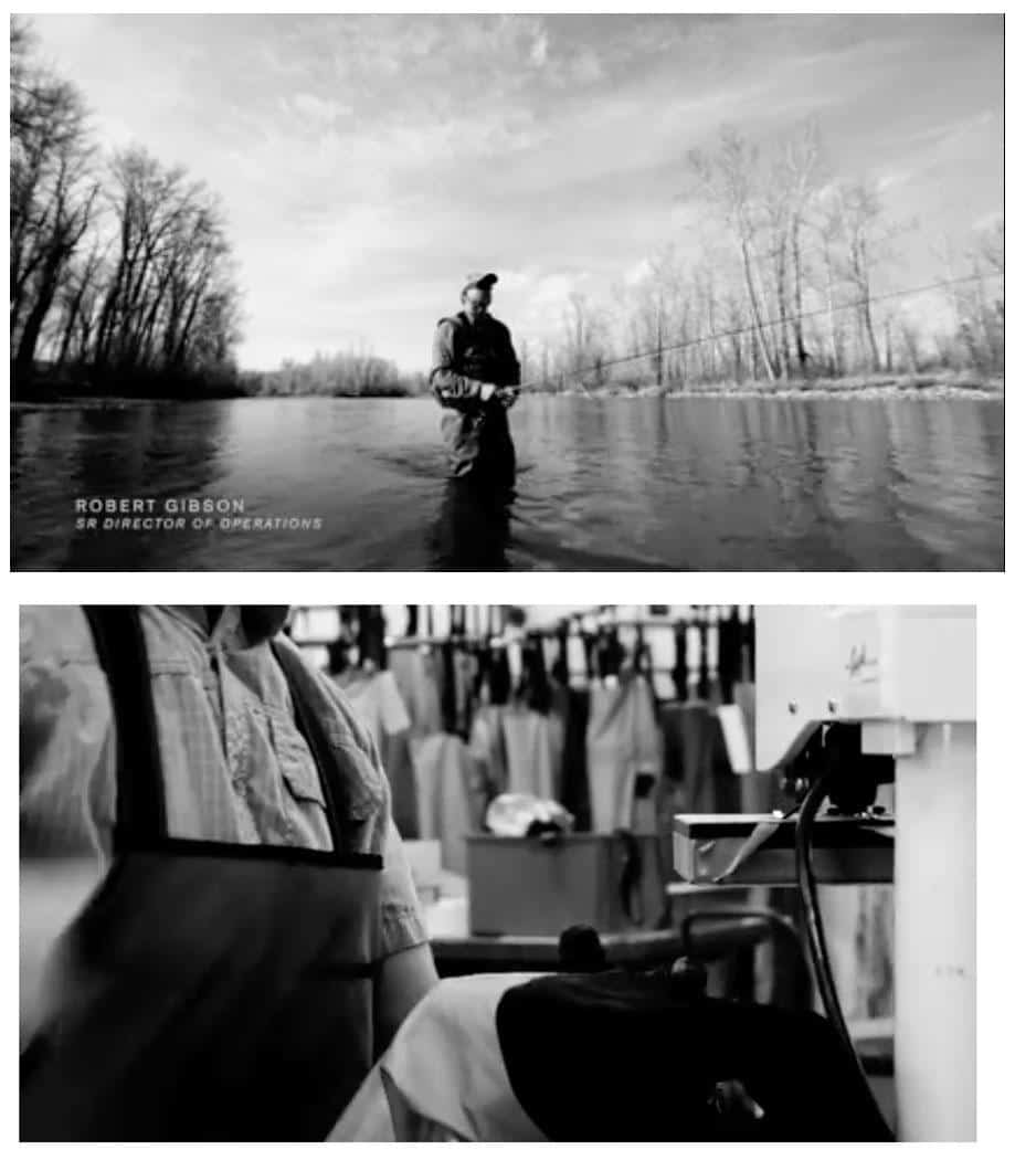 "eCommerce branding: Simms year-long video campaign ""Wader Makers"" was a brilliant strategy."