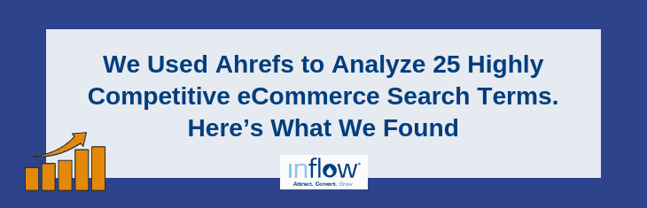 We Used Ahrefs to Analyze 25 Highly Competitive eCommerce Search Terms. Here's What We Found