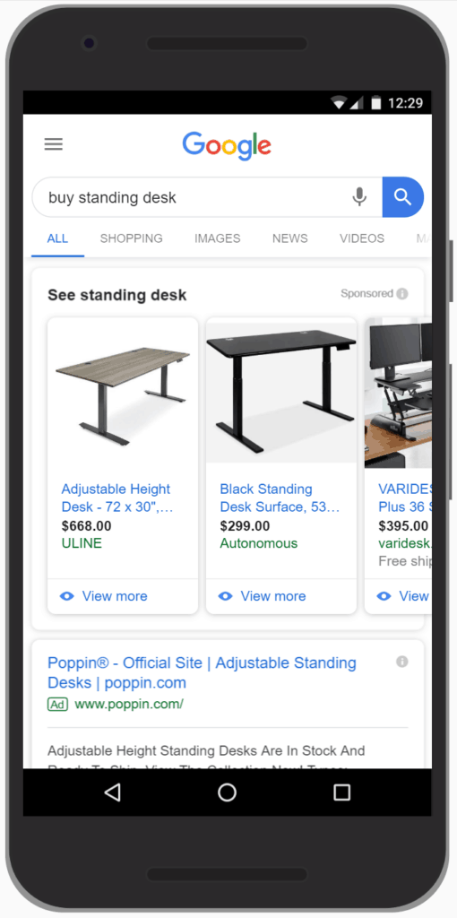 eCommerce Ads Strategy: Google Shopping ads are useful if you're a B2C selling products online.
