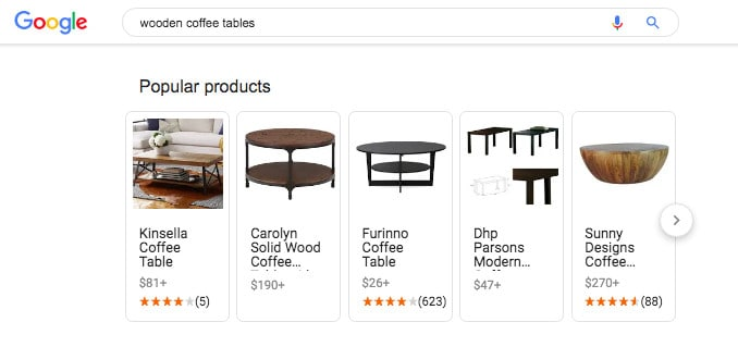 """wooden coffee tables"" Google search results"