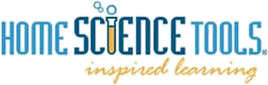 Logo: Home Science Tools. Inspired learning.