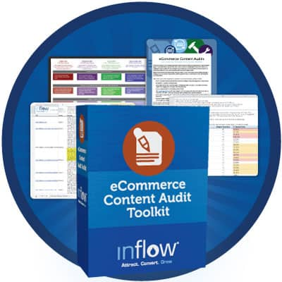 Icon: ecommerce content audit tool kit