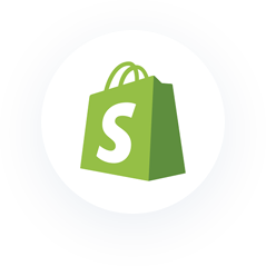 Icon: Shopify.
