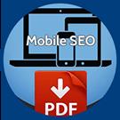 Icon: Mobile S E O. P D F download.
