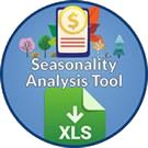 Icon: Seasonality Analysis Tool. X L S download.