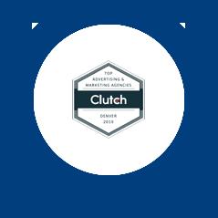 Icon: Clutch. Top Advertising & Marketing Agencies.