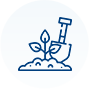 Icon: Garden supplies.