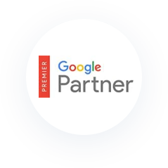 Icon: Google Partner. Premier.