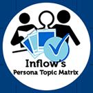 Icon: Inflow's Persona Topic Matrix